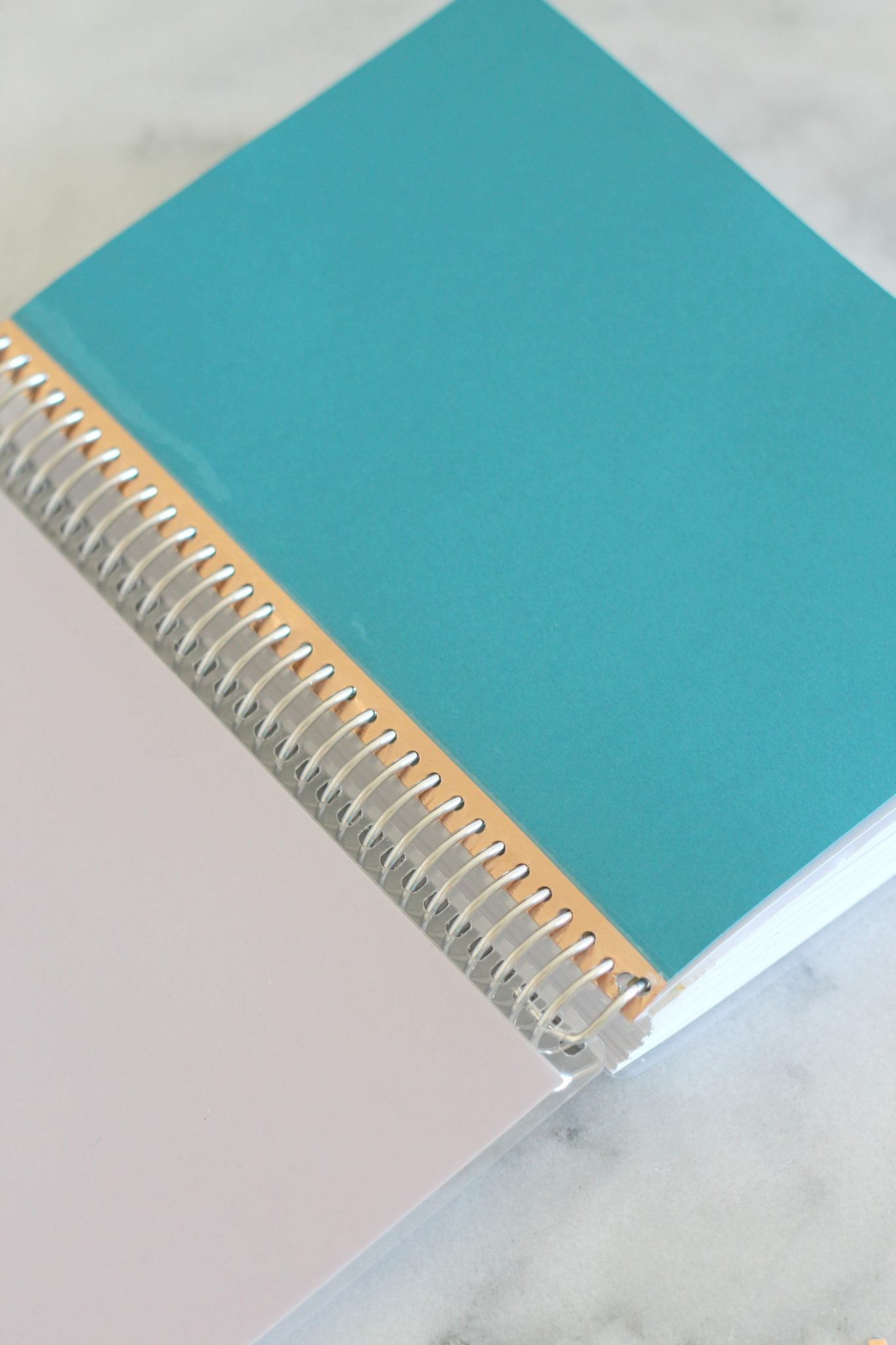 How to add pages to a spiral bound planner.