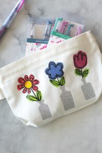 Springtime Flower Pouch Craft