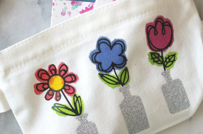 Springtime Flower Pouch Craft