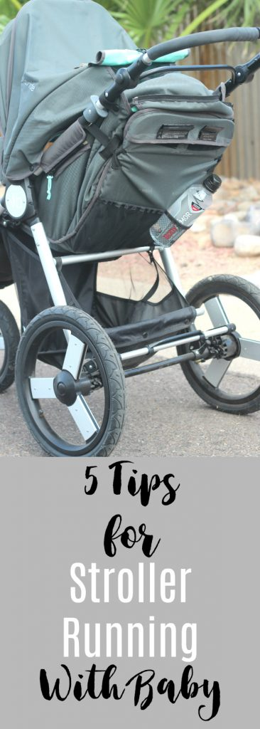 5 tips for stroller running with baby