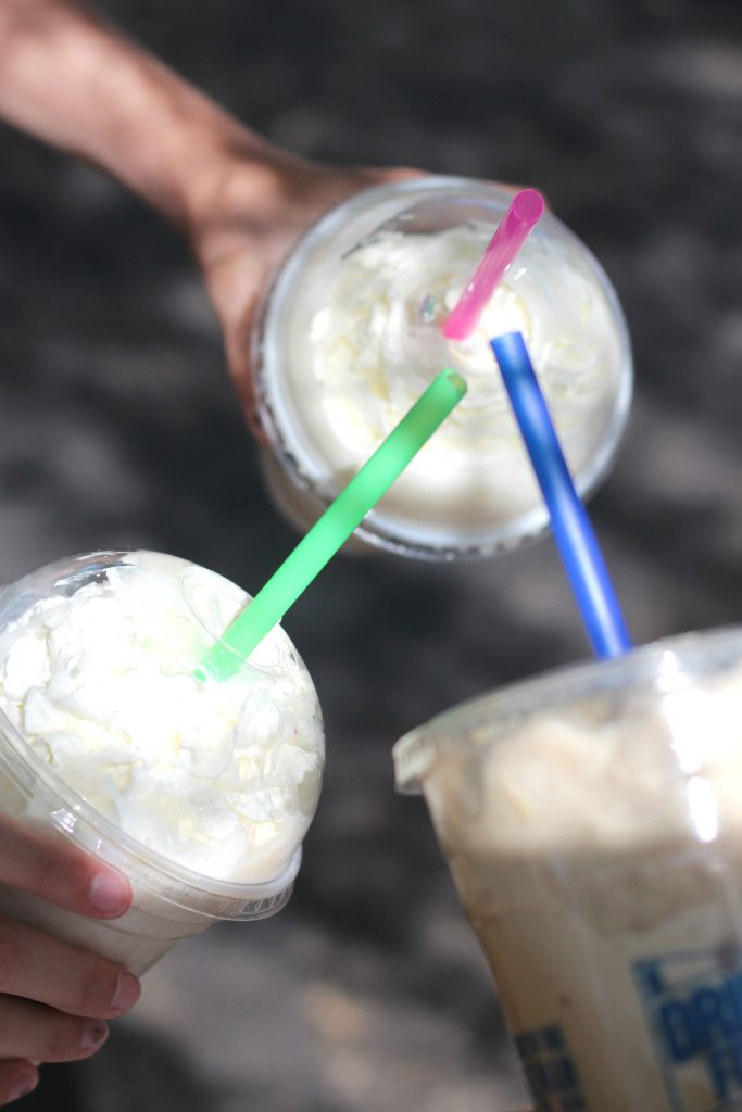 Did you know that Dutch Bros Coffee uses Torani syrups? That's why they taste amazing! #ShowYourRow @torani #ad