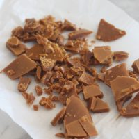 Easy Homemade Toffee Bits
