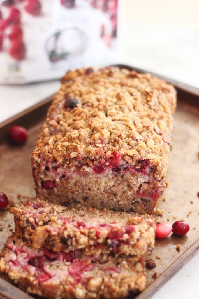 Cranberry Walnut Banana Bread Recipe