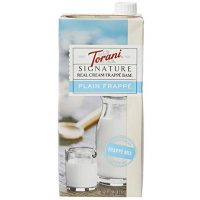 Torani Signature Real Cream Frappe Base
