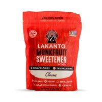 Lakanto Monkfruit 1:1 Sugar Substitute | NON GMO (Classic White, 1 Ibs)
