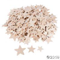 DIY Unfinished Wood Stars