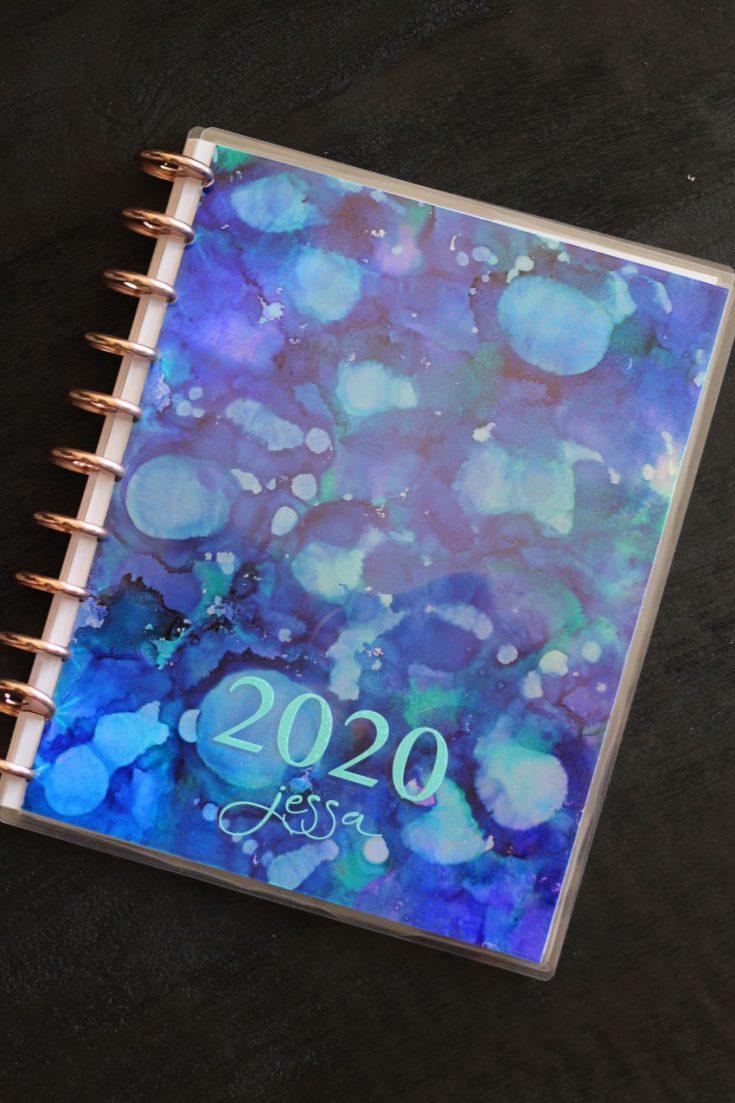 DIY Custom Laminated Planner Cover
