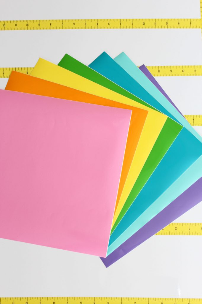 rainbow of craft gloss vinyl from StyleTech Craft